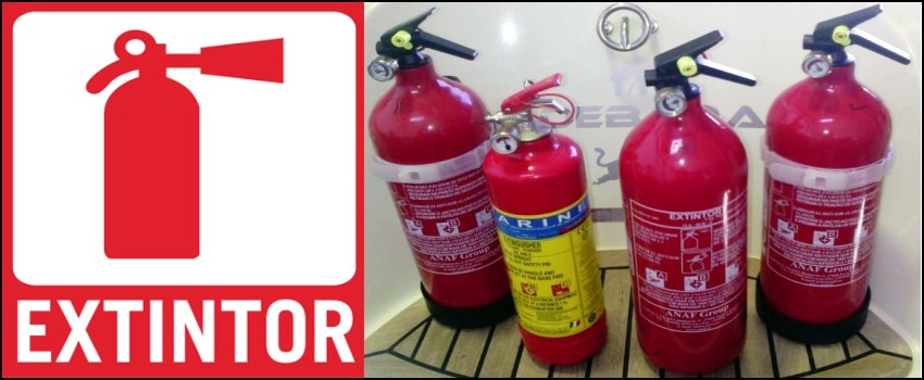 Fire Extinguishers for Boats and Yachts in Mallorca